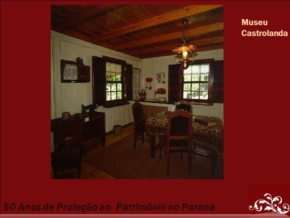 50 Anos de Proteção ao Patrimônio no Paraná Museu Castrolanda