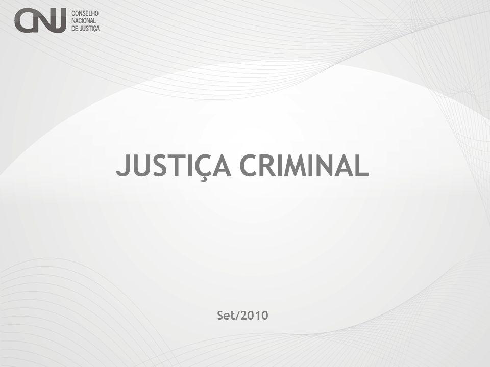 JUSTIÇA CRIMINAL Set/2010