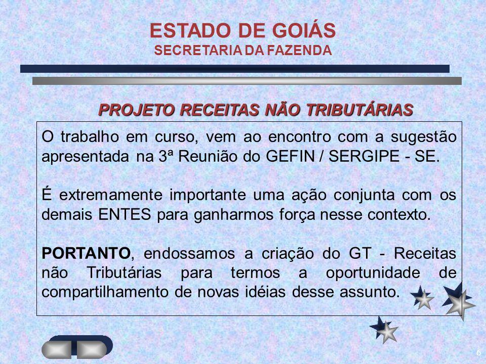 7 CAPTAÇÃO DE RECURSOS DE ORIGEM NÃO TRIBUTÁRIA COMPENSAÇÃO PREVIDENCIÁRIA – INSS: VIABILIZAR RESSARCIMENTO DE CONTRIBUIÇÕES DESTINADAS A FUNDOS DE PENSÃO.