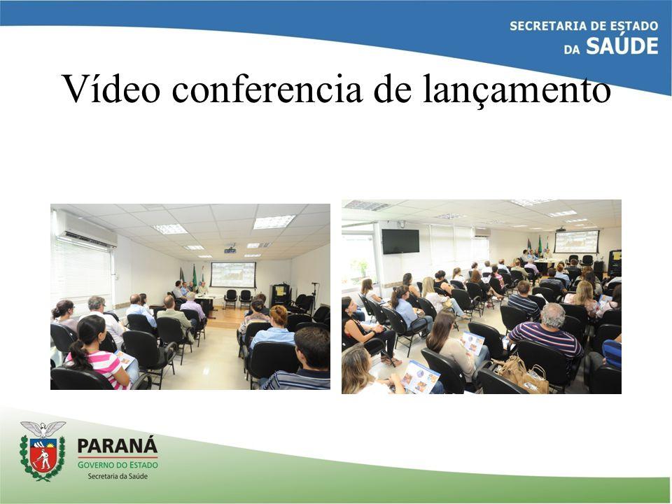 Vídeo conferencia de lançamento
