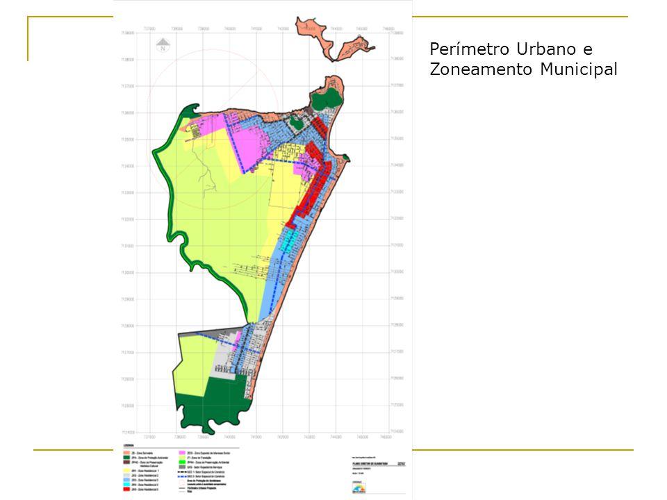 Perímetro Urbano e Zoneamento Municipal
