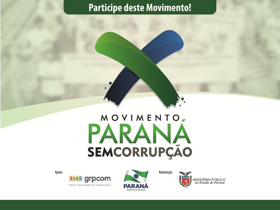O que é o Movimento Paraná Sem Corrupção.
