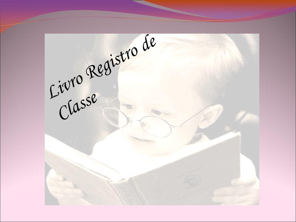 Livro Registro de Classe