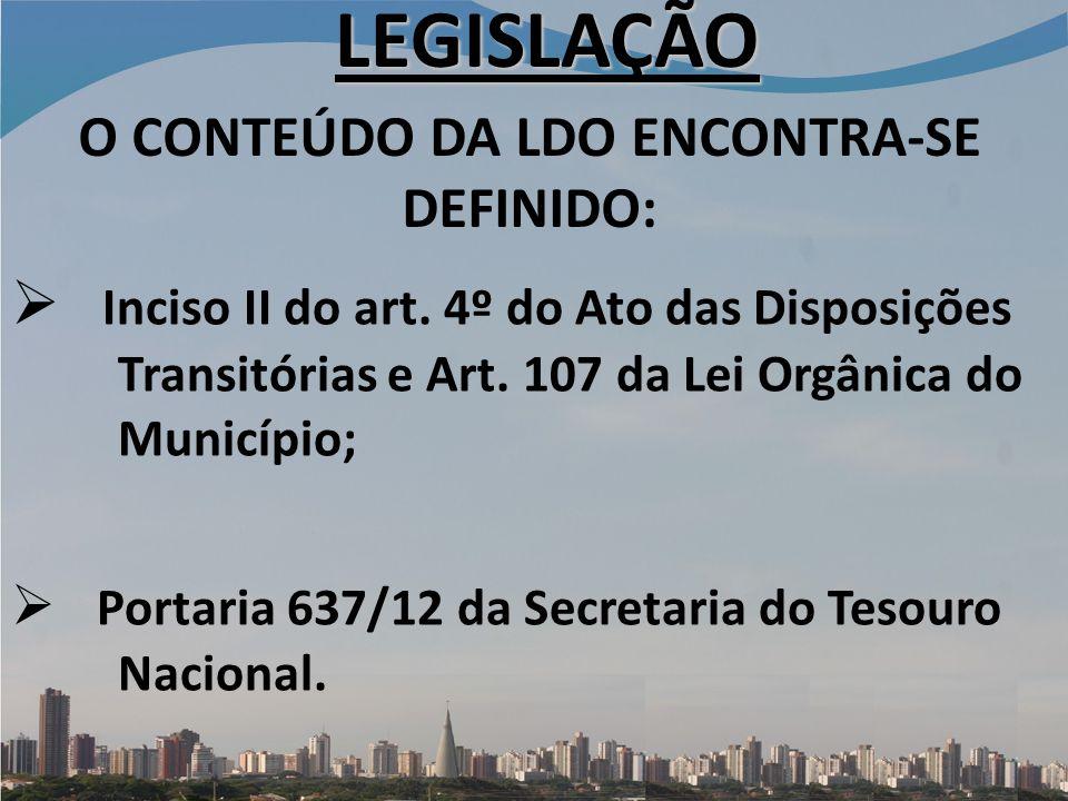 Inciso II do art.4º do Ato das Disposições Transitórias e Art.