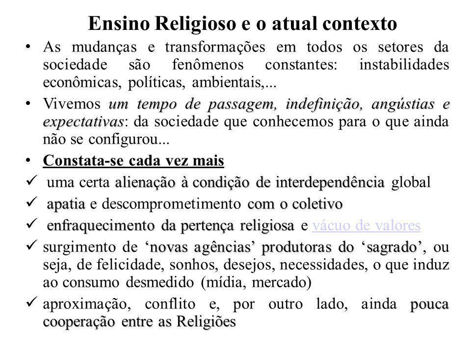 Ensino Religioso, Currículo Escolar,...