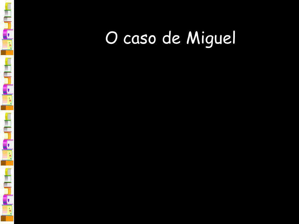 O caso de Miguel