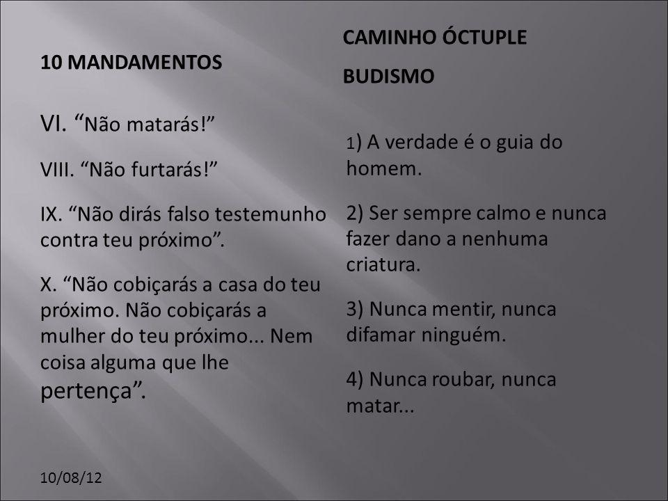 10/08/12 O Budismo regras para o chefe de família.