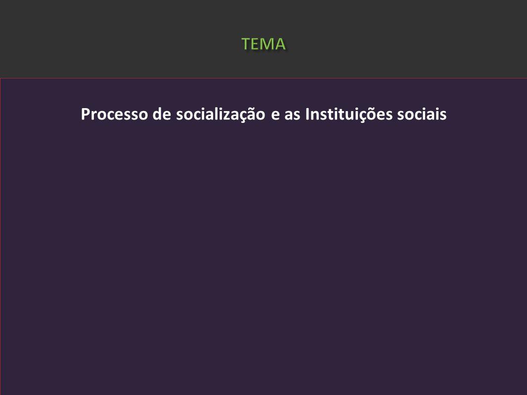 Cezar Bueno de Lima. Doutor em Ciências Sociais. Professor de Sociologia do Curso de Licenciatura em Ciências Sociais da PUCPR Processo de socializaçã