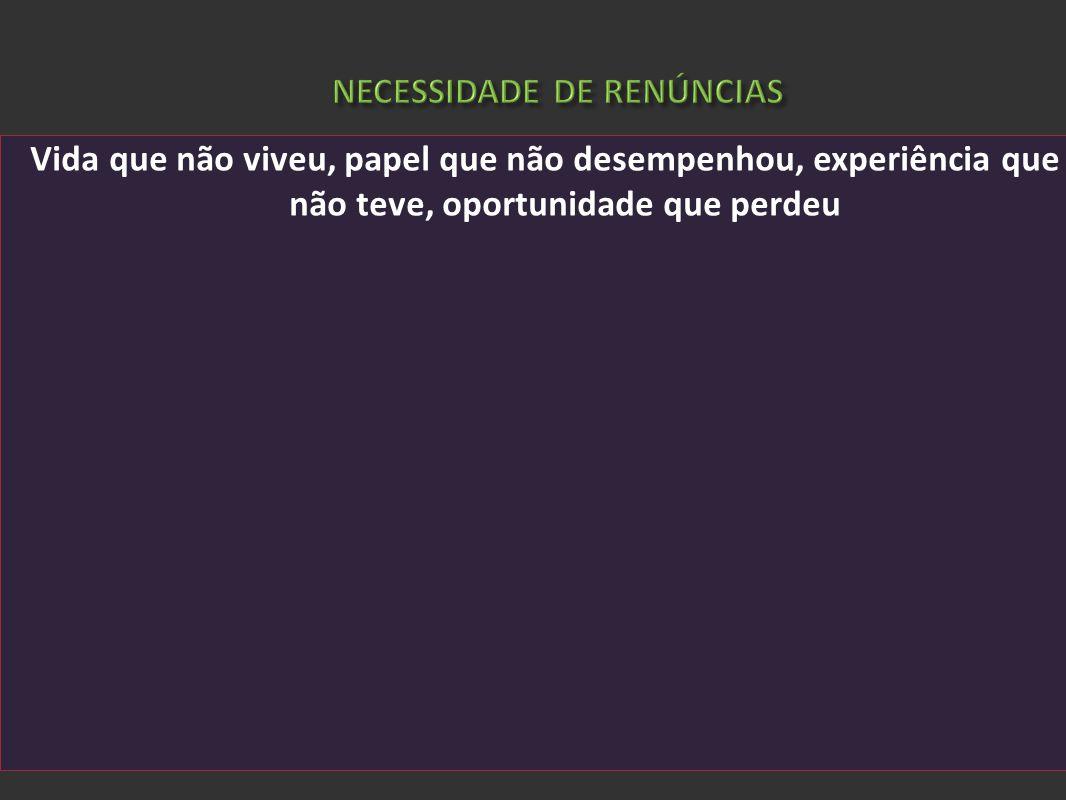 ELIAS, Norbert. A sociedade dos indivíduos. Rio de Janeiro: Zahar, 1994 Vida que não viveu, papel que não desempenhou, experiência que não teve, oport