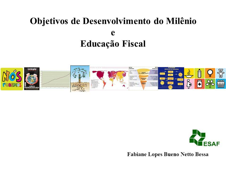 Fabiane Lopes Bueno Netto Bessa Objetivos de Desenvolvimento do Milênio e Educação Fiscal