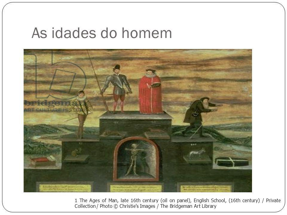 As idades do homem The Ages of Man, 1906 (colour litho), French School, (20th century) / Musee Nat.