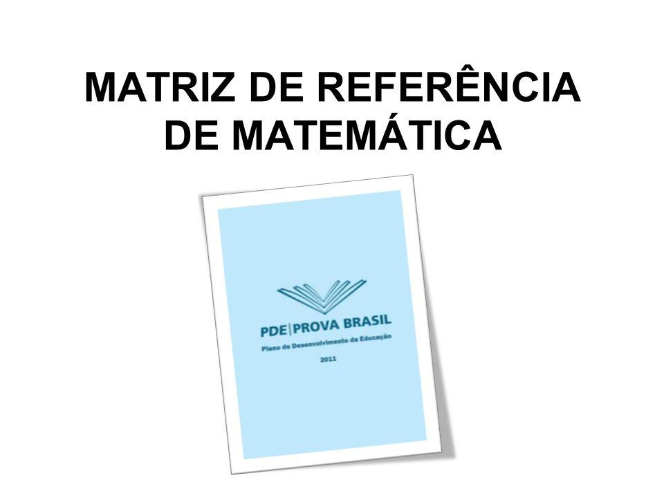 MATRIZ DE REFERÊNCIA DE MATEMÁTICA
