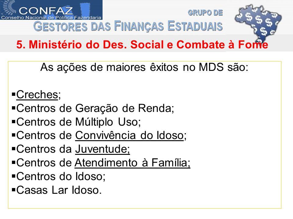 5. Ministério do Des.