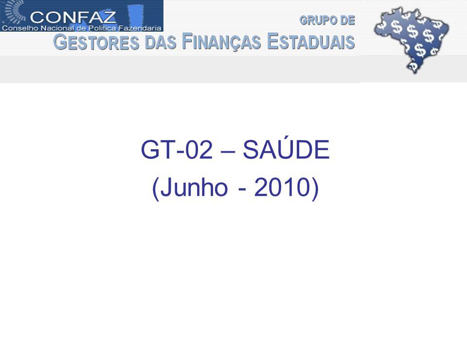 GT-02 – SAÚDE (Junho - 2010)