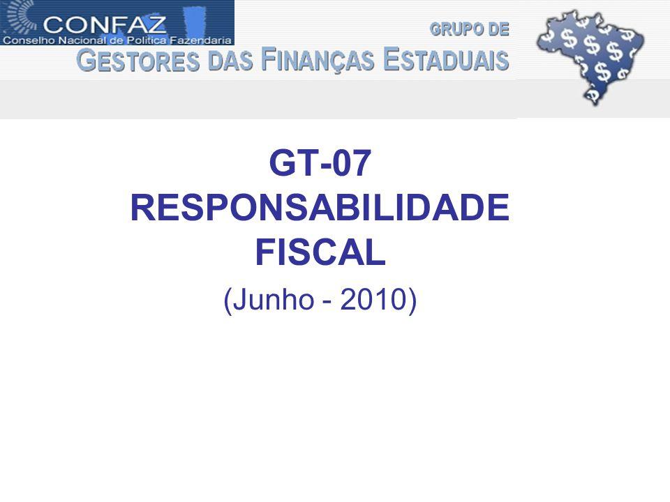 GT-07 RESPONSABILIDADE FISCAL (Junho - 2010)