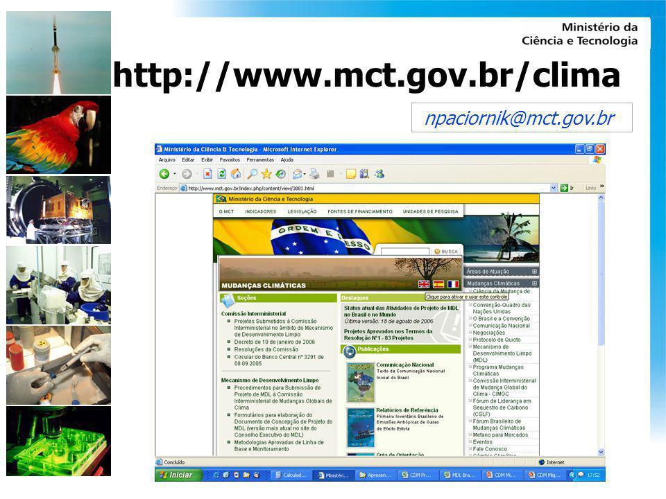 npaciornik@mct.gov.br http://www.mct.gov.br/clima