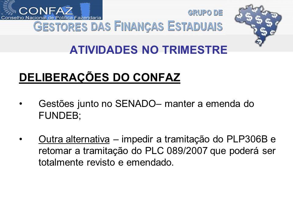 ATIVIDADES NO TRIMESTRE IMPACTOS PL1874/2011 PL- da Camara nº 1874/2011 autoria do Dep.Felipe Bornier - (PHS/RJ).