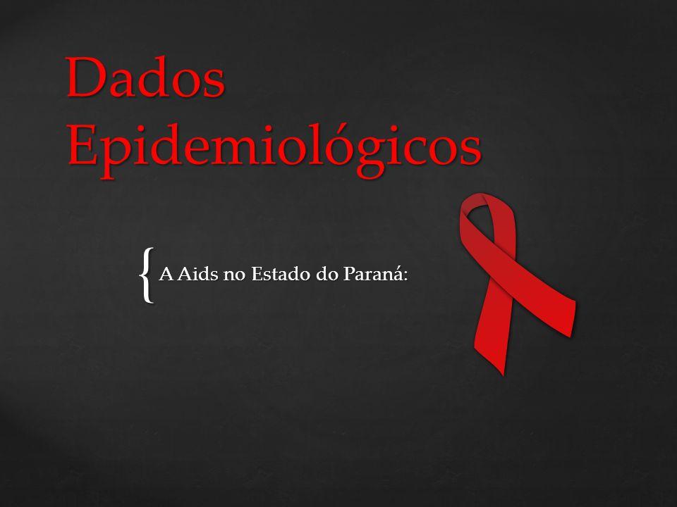 { Dados Epidemiológicos A Aids no Estado do Paraná: