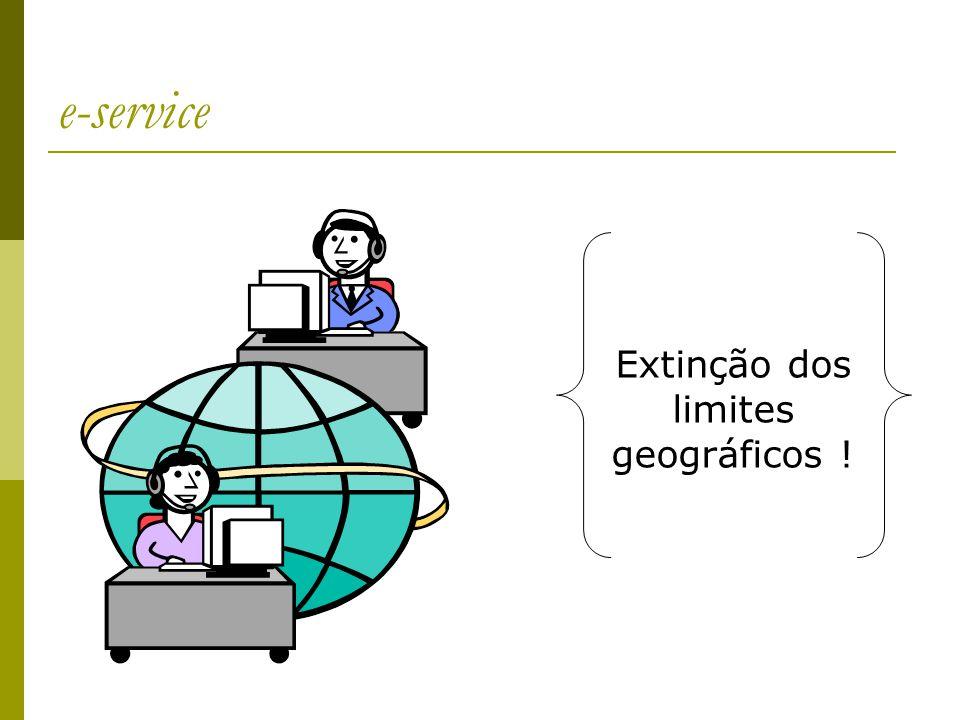 e-service Extinção dos limites geográficos !