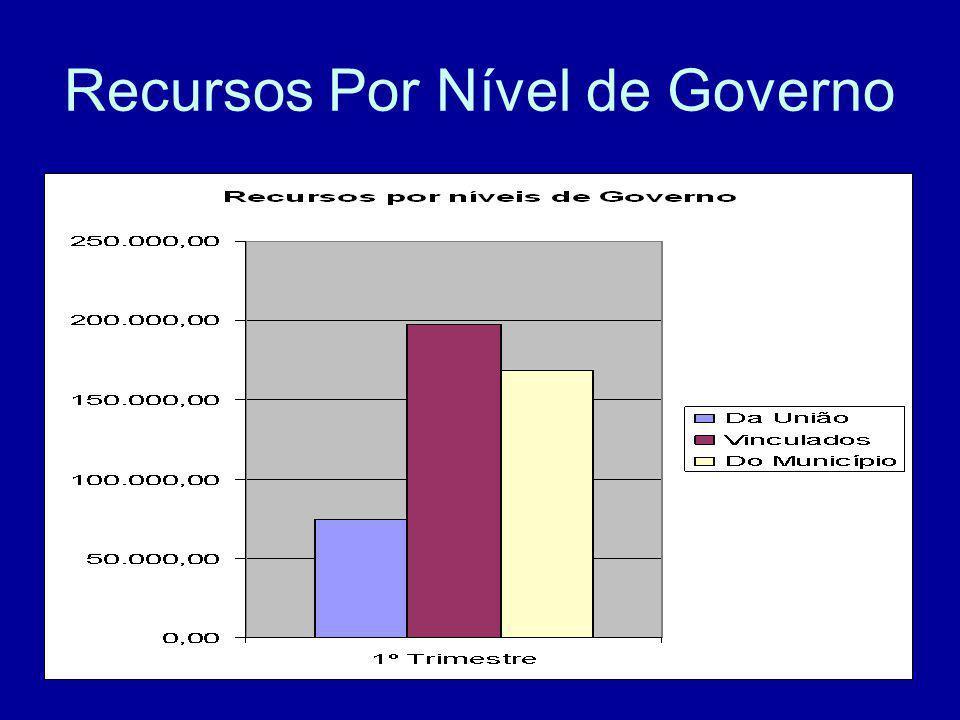 Recursos Por Nível de Governo