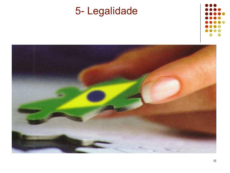 16 5- Legalidade