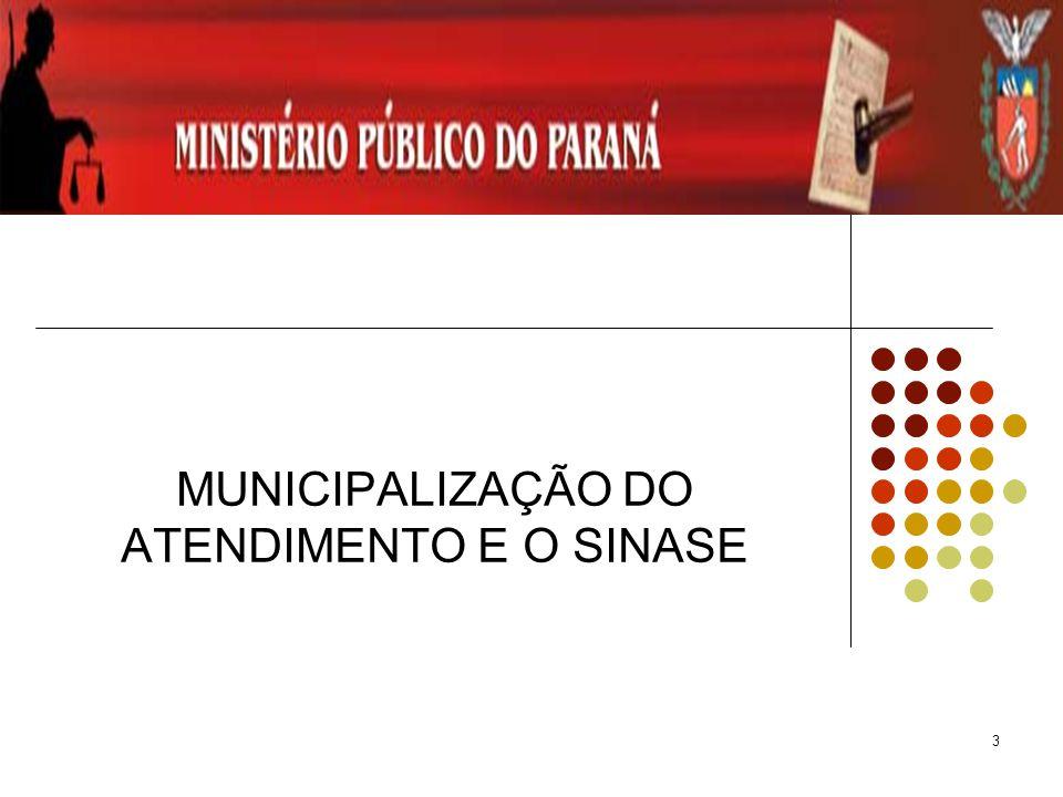 4 SINASE SISTEMA NACIONAL SÓCIO EDUCATIVO Levantamento estatístico da Subsecretaria de Promoção dos Direitos da Criança e do Adolescente da Secretaria Especial dos Direitos Humanos /2004 39.578 adolescentes no sistema socioeducativo; representa 0,2%(zero vírgula dois por cento) do total de adolescentes na idade de 12 a 18 anos existentes no Brasil 70%(setenta por cento), ou seja, 27.763 do total de adolescentes no Sistema Sócio- educativo se Encontravam em cumprimento de medidas sócio- educativas em meio aberto (liberdade assistida e prestação de serviço a comunidade)