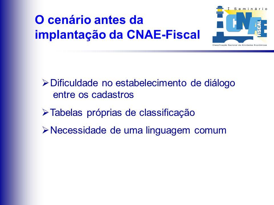 Linguagem única de classificação Qualidade das Informações Instrumentos para a obtenção de informações Interação e comparabilidade Considerações inici