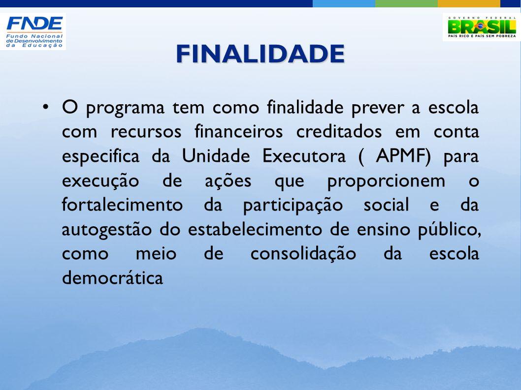 CRITÉRIOS PARA PARTICIPAÇÃO Ter realizado CENSO ESCOLAR do ano anterior.