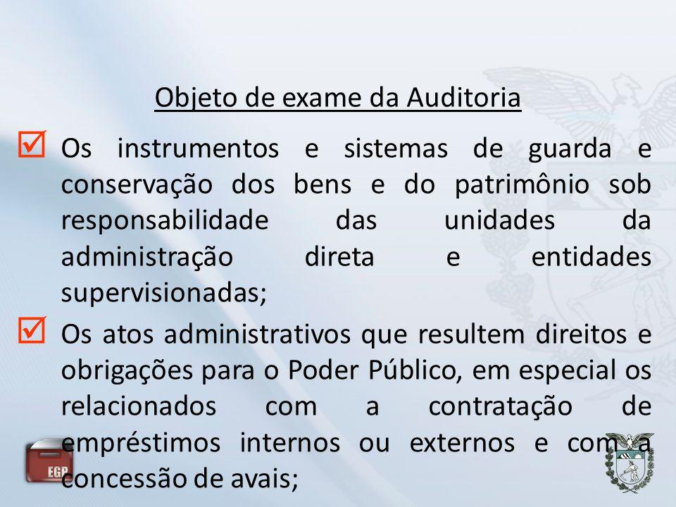 Os instrumentos e sistemas de guarda e conservação dos bens e do patrimônio sob responsabilidade das unidades da administração direta e entidades supe