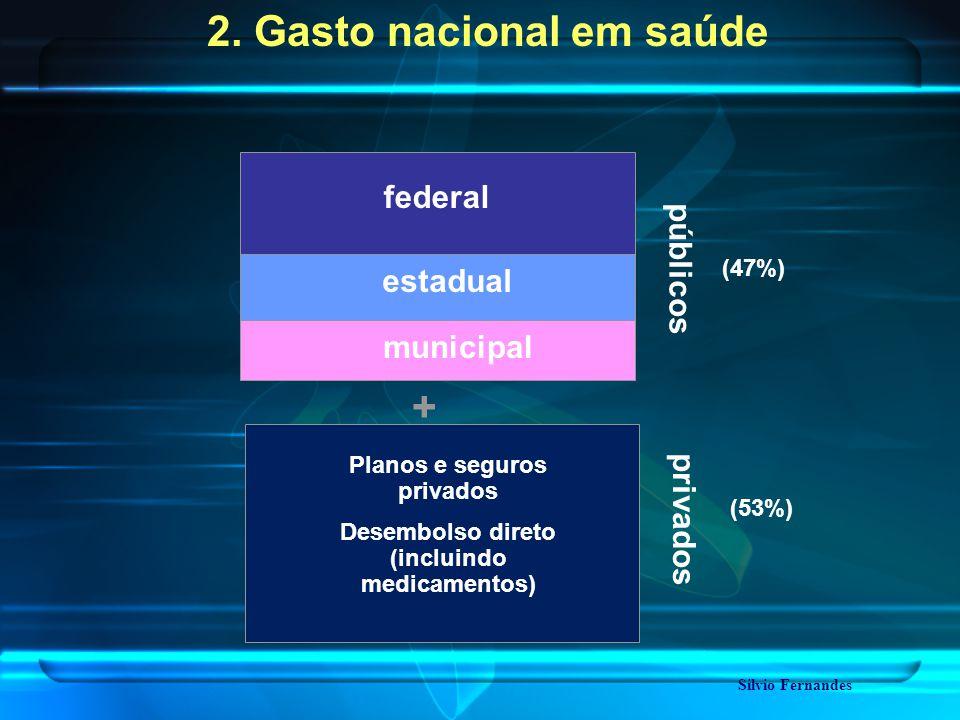 públicos privados federal estadual municipal + Silvio Fernandes 2.