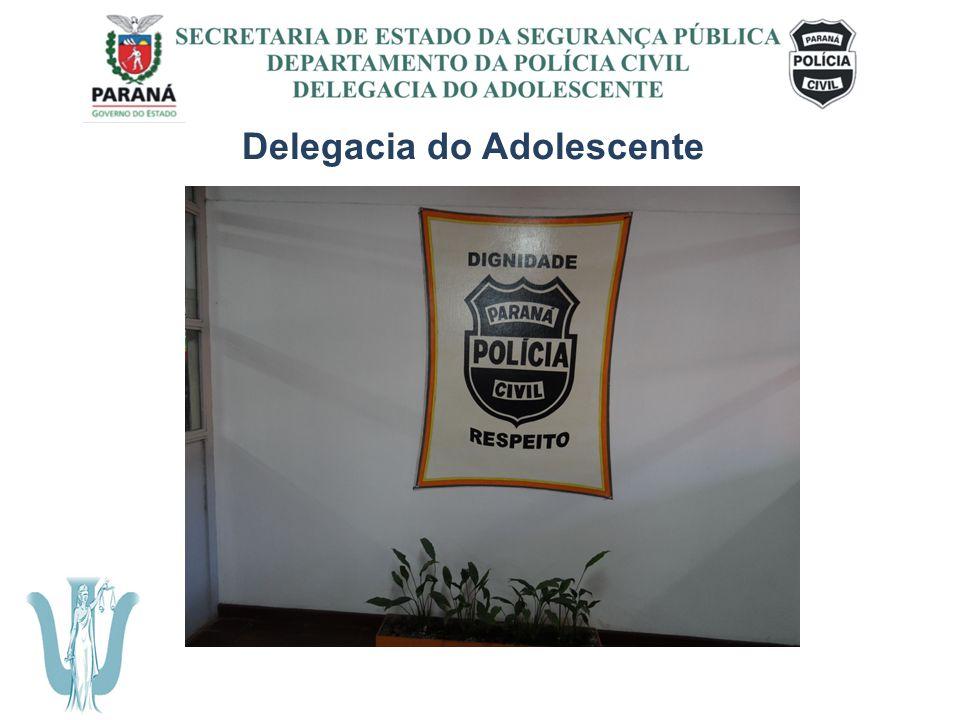 SECRETARIA DE ESTADO DA SEGURANÇA PÚBLICA DEPARTAMENTO DA POLÍCIA CIVIL DELEGACIA DO ADOLESCENTE Da criação do setor A Psicologia Jurídica está presente na Delegacia do Adolescente desde 2007.