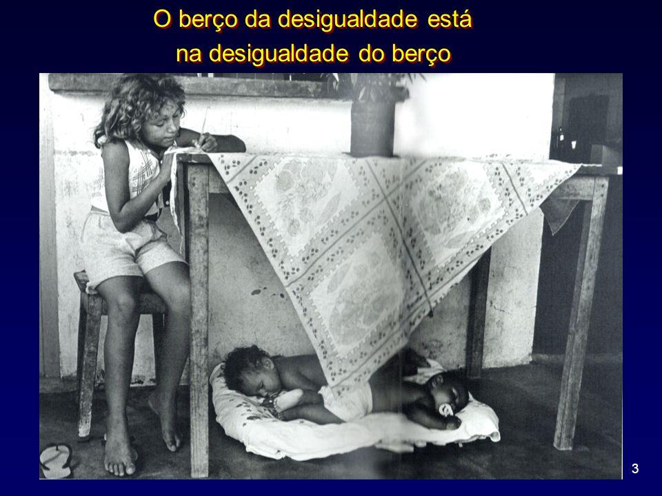 3 O berço da desigualdade está na desigualdade do berço O berço da desigualdade está na desigualdade do berço