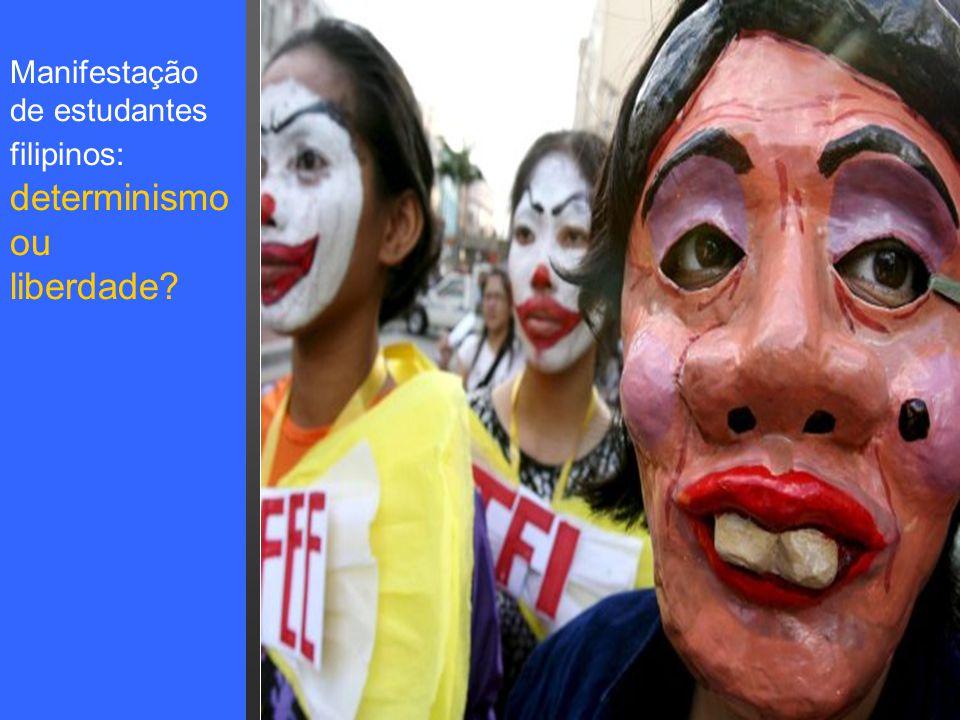 Pensar Azul Texto Editores Manifestação de estudantes filipinos: determinismo ou liberdade?