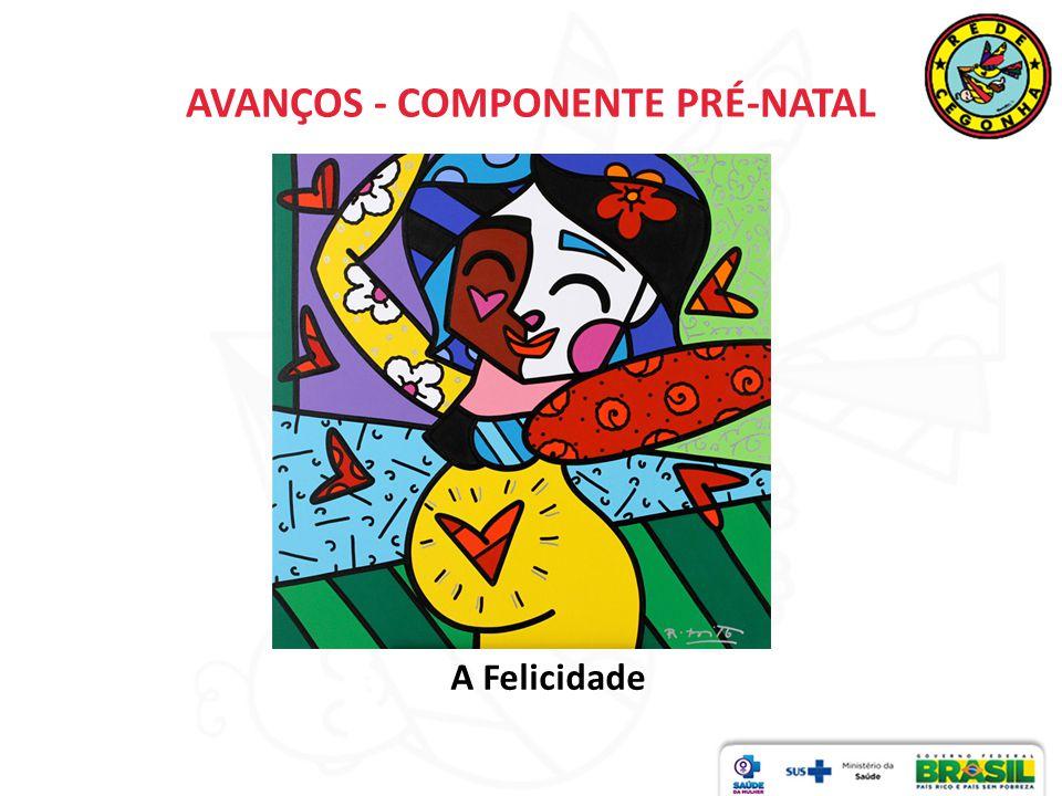 AVANÇOS - COMPONENTE PRÉ-NATAL A Felicidade