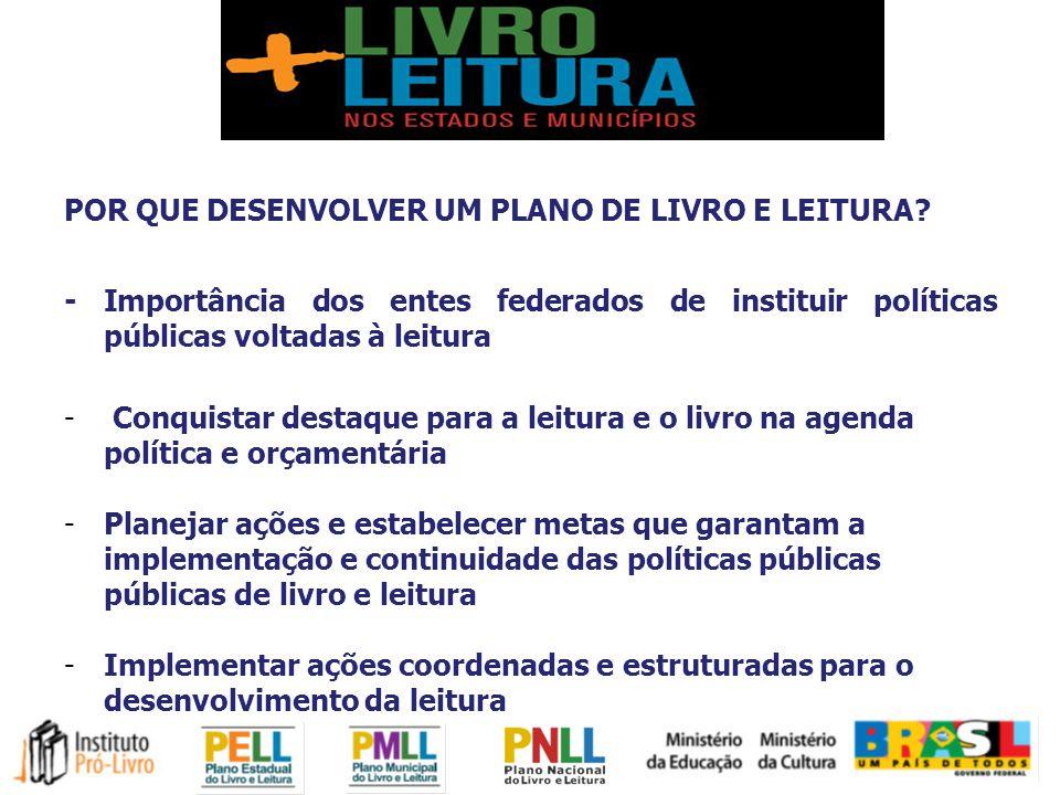 Projeto O Livro e a Leitura nos Planos Estaduais e Municipais - PELL e PMLL