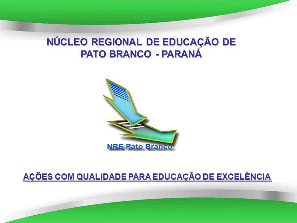 Powerpoint Templates NÚCLEO REGIONAL DE EDUCAÇÃO DE PATO BRANCO - PARANÁ AÇÕES COM QUALIDADE PARA EDUCAÇÃO DE EXCELÊNCIA