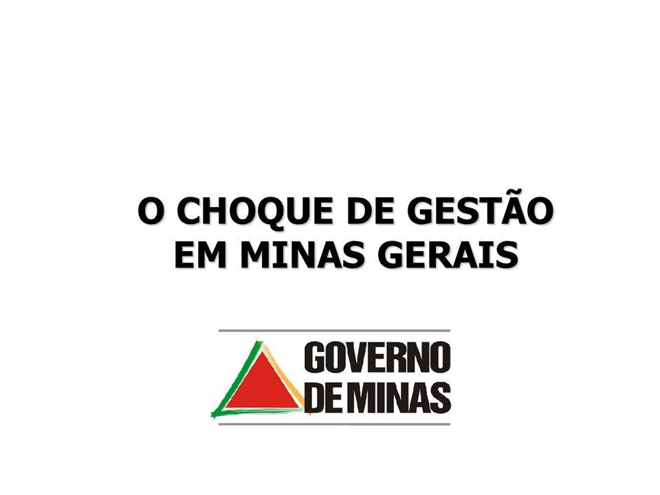 O CHOQUE DE GESTÃO EM MINAS GERAIS