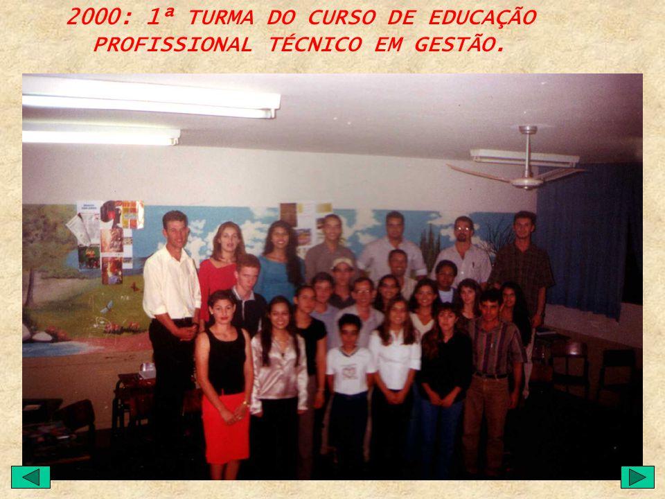 1998: ÚLTIMO ANO DE FUNCIONAMENTO DO CURSO AUXILIAR DE CONTABILIDADE. 1999: ÚLTIMO ANO DE FUNCIONAMENTO DO CURSO DE MAGISTÉRIO.