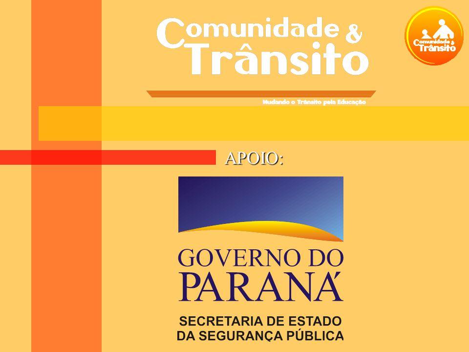 O problema do Trânsito 5993Total 52 (1%) Armas de fogo 121 (2%) Intoxicações (envenenamento) 289 (5%) Quedas 367 (6%) Outros 420 (7%) Queimaduras 771 (13%) Sufocação 1527 (25%) Afogamento 2446 (41%) Acidentes de trânsito Total de mortes 0 a 14 anos Tipo de acidente Criança Segura Brasil/DATASUS – Ministério da Saúde 2003
