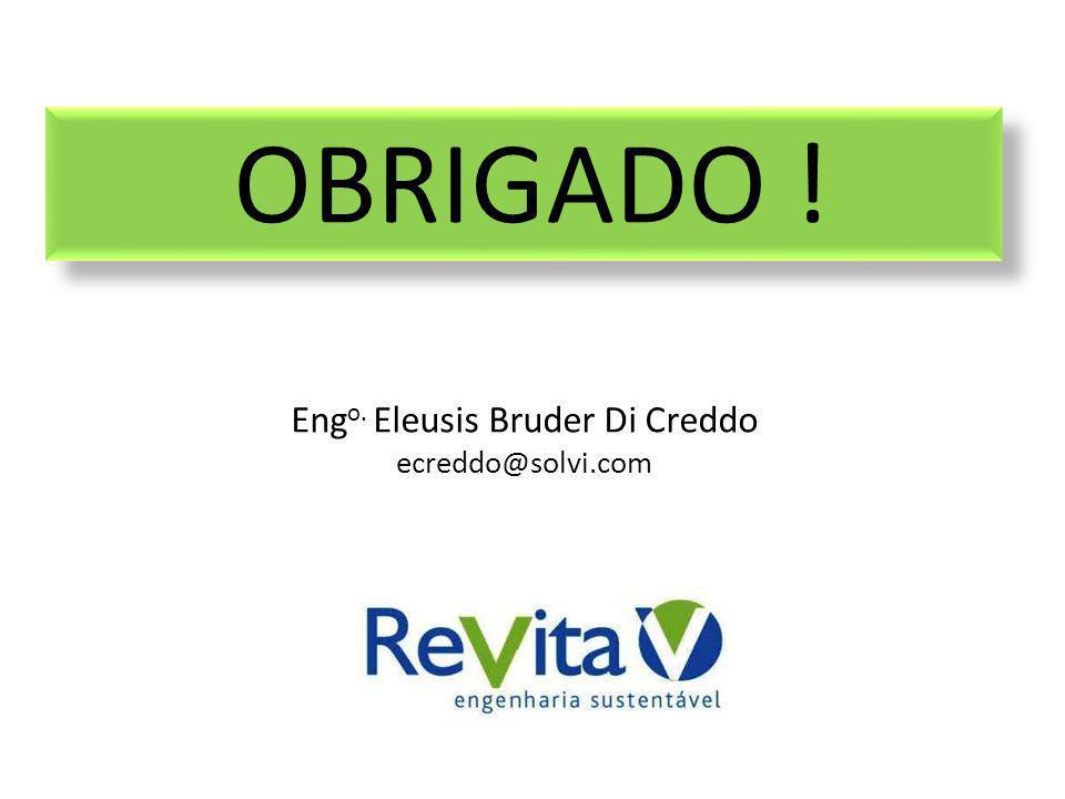 Eng o. Eleusis Bruder Di Creddo ecreddo@solvi.com OBRIGADO !
