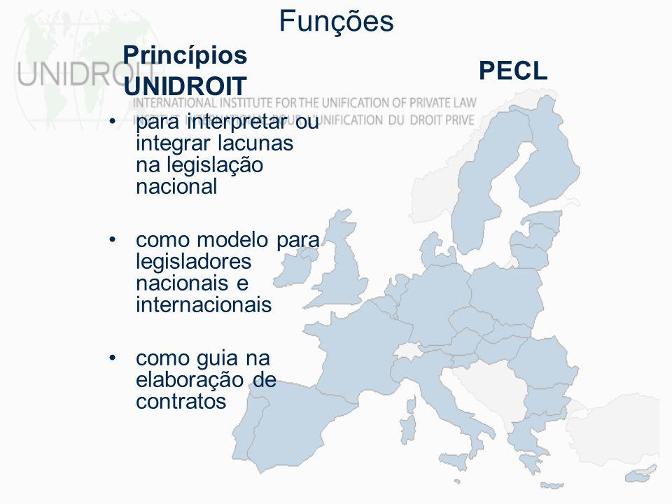 para interpretar ou integrar lacunas na legislação nacional como modelo para legisladores nacionais e internacionais como guia na elaboração de contra