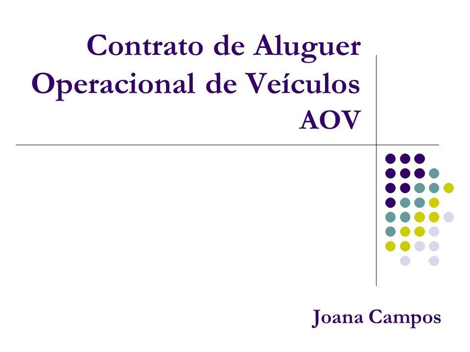 Contrato de Aluguer Operacional de Veículos AOV Joana Campos