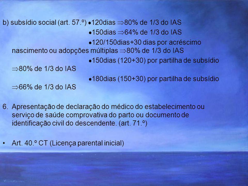 b) subsídio social (art.