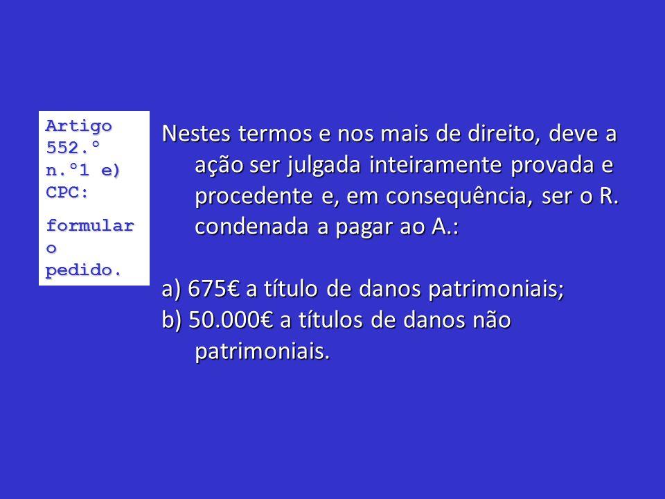 Requerimento probatório:Requerimento probatório: Testemunhas:Testemunhas: 1- Maria Francisca Matos, estudante, residente na Av.