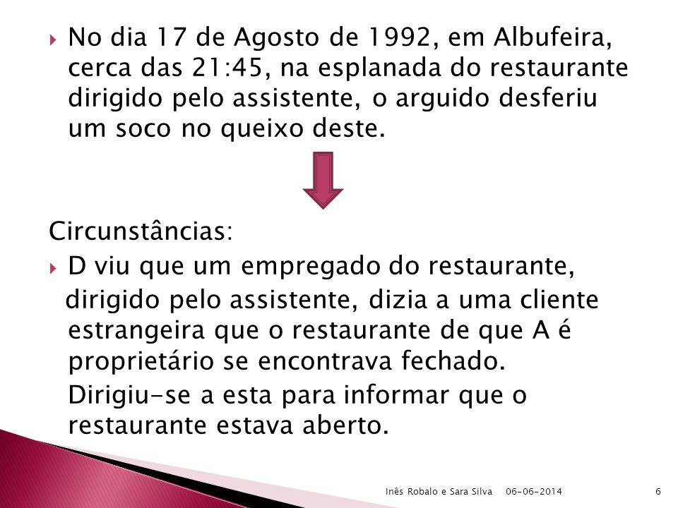 Art.31, n.º 2, a): causa de exclusão da ilicitude Cfr.