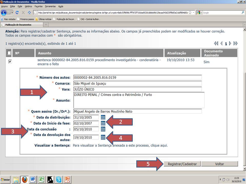 FIM Tribunal de Justiça do Estado do Paraná Des.Celso Rotoli de Macedo (Presidente) Des.