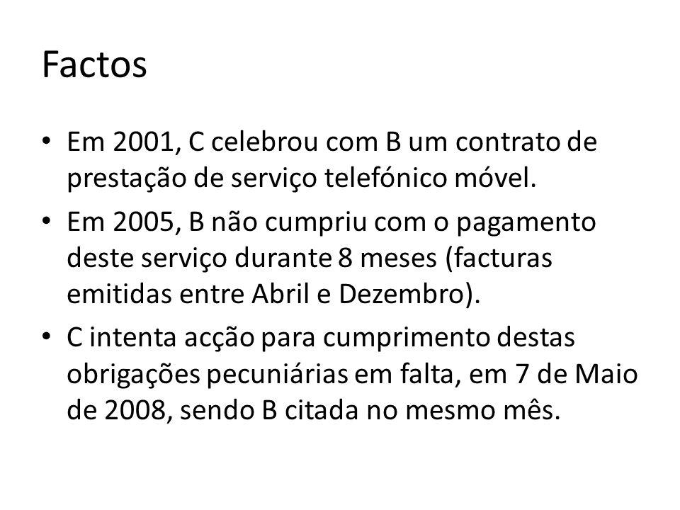 Decisão O prazo prescritivo de 6 meses aplica-se aos serviços prestados antes de 11 de Fevereiro de 2004 (entrada em vigor da Lei 5/2004) e aos prestados depois de 26 de Maio de 2008 (entrada em vigor da Lei 12/2008).