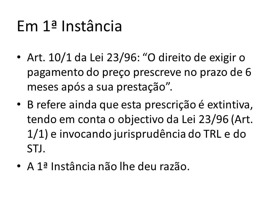Evolução do Regime Legal A Lei 5/2004, de 10 de Fevereiro (Lei das Comunicações Electrónicas), excluía o serviço de telefone do âmbito de aplicação da Lei 23/96 (Art.