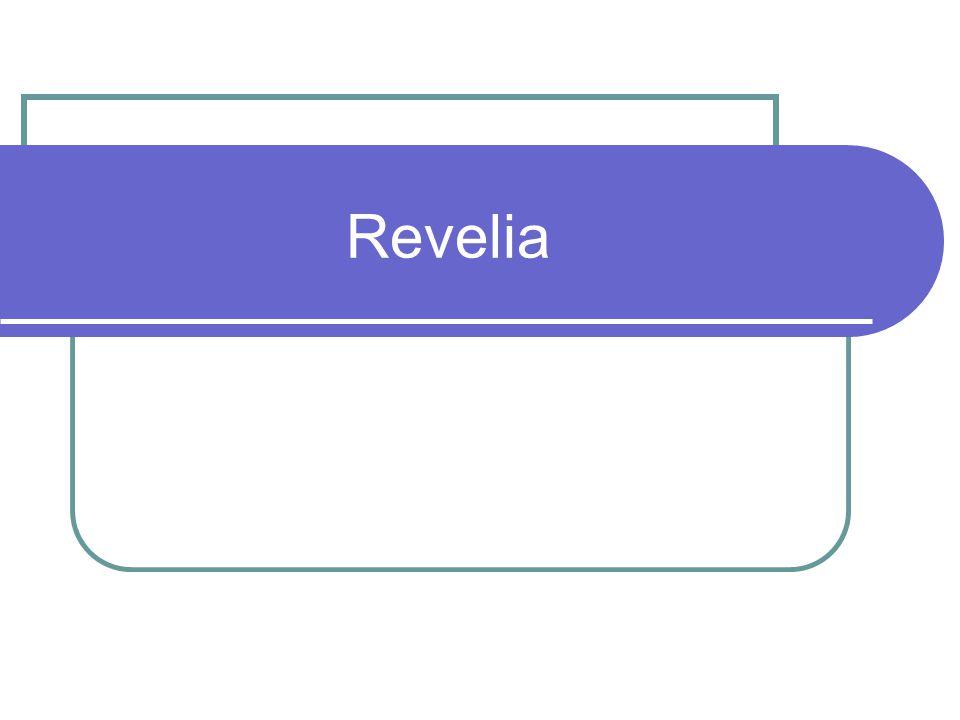 Revelia