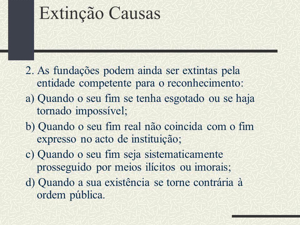 Extinção Causas 2.